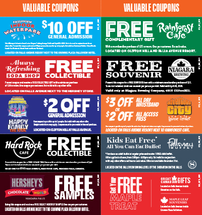 Falls Avenue Coupons