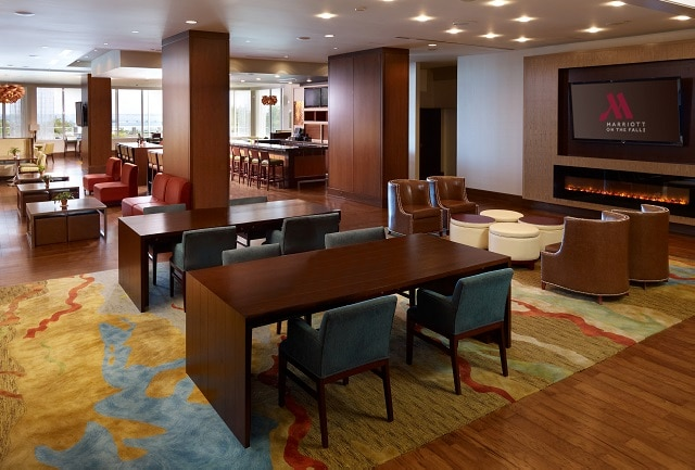 Open Concept Lobby Lounge