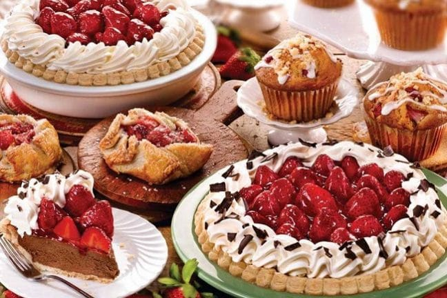 Save room for dessert from the Bakery