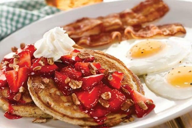 Perkins' famous all-day breakfast