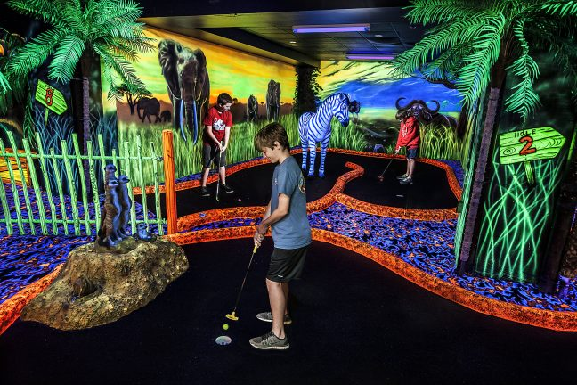Safari Glow In The Dark Mini Putt