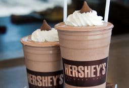 Cool Down With A Creamy Hershey's Milkshake