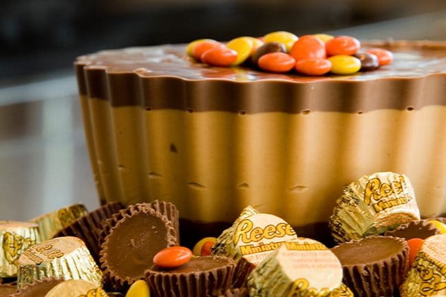Giant Reese's Cups Available at Hershey's Chocolate World