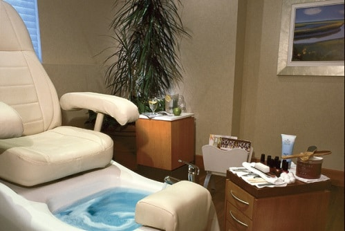 Pedicure Station at Serenity Spa