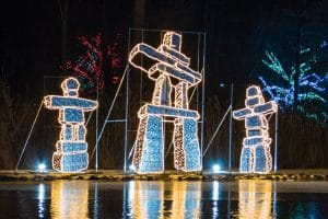 Winter Festival of Lights Display