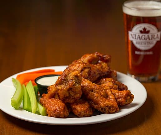 Niagara Brewing Company Broasted Wings