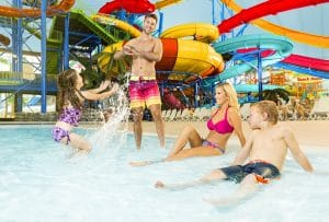 Fallsview Indoor Waterpark in Niagara Falls.