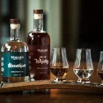 Niagara Distillery Flights