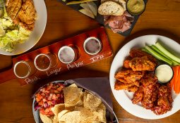 Snack or a meal to complement craft beer