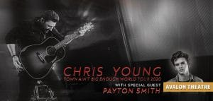 Chris Young Live At Fallsview Casino Avalon Theatre