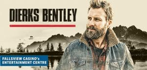 Dierks Bentley live at Fallsview Casino's Niagara Entertainment Centre