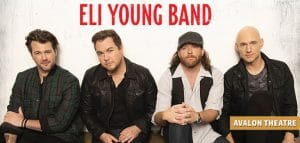 Eli Young Band live at Fallsview Casino