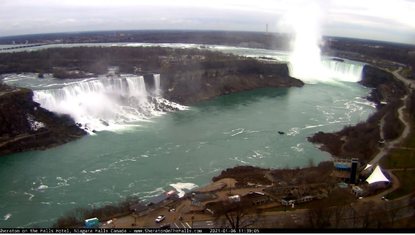 sheraton on the falls webcam