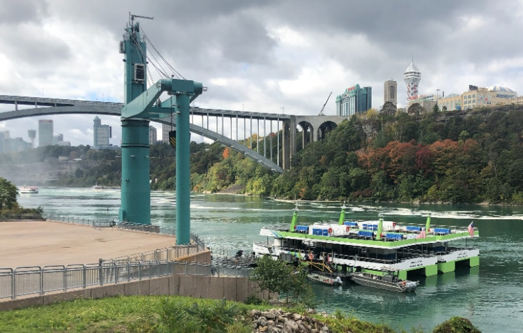 Maid of the Mist Electric Boats
