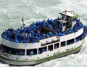 Maid of the Mist in Niagara Falls, Canada